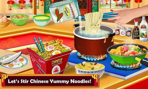 Chinese Food Court Super Chef Story Cooking Games 1.3 screenshots 2