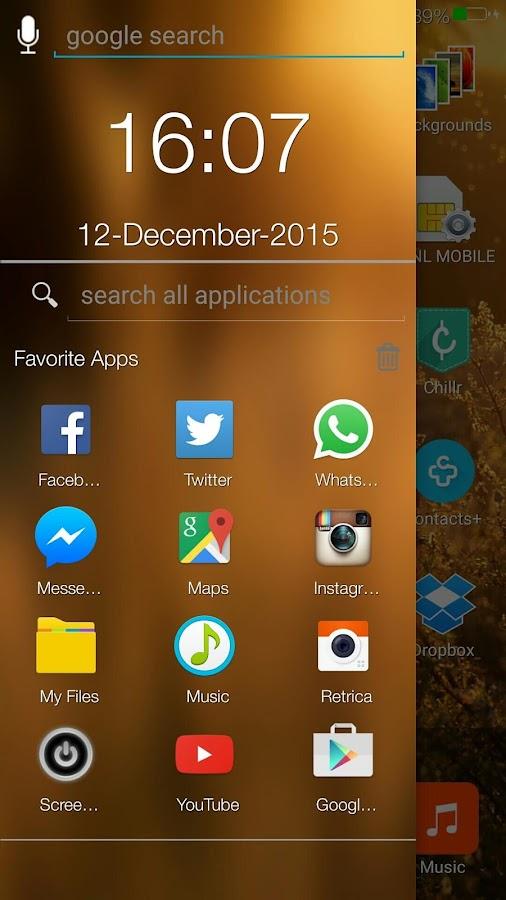 iLauncher i5 7 Tema HD Gratis- tangkapan layar