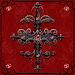 Red Gothic Cross Go Launcher theme Icon