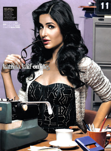 Katrina Kaif At GQ Magazine Cover Page