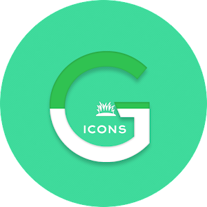 OJ Green – Round Icon pack v1.0 APK
