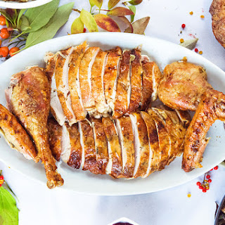 Herb and Garlic Buttered Turkey