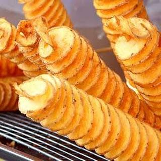 Potato Spirals.