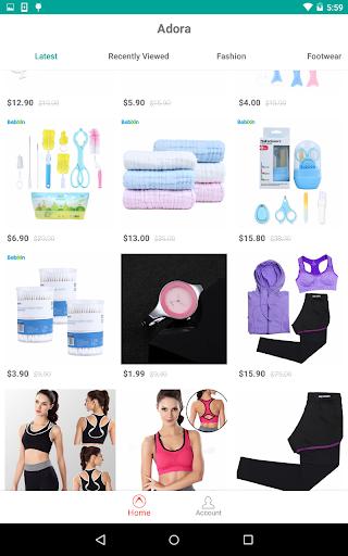 Adora - Personalized Shopping  screenshots 7
