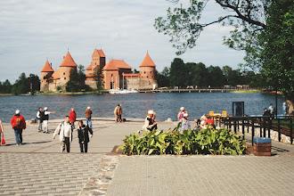 Photo: Wasserburg von Trakai in Litauen
