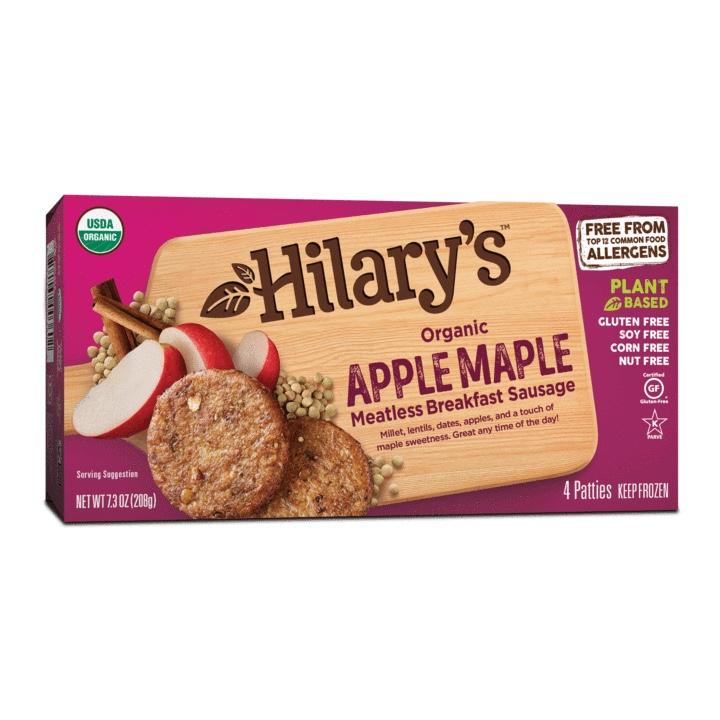 Apple Maple Veggie Breakfast Sausage