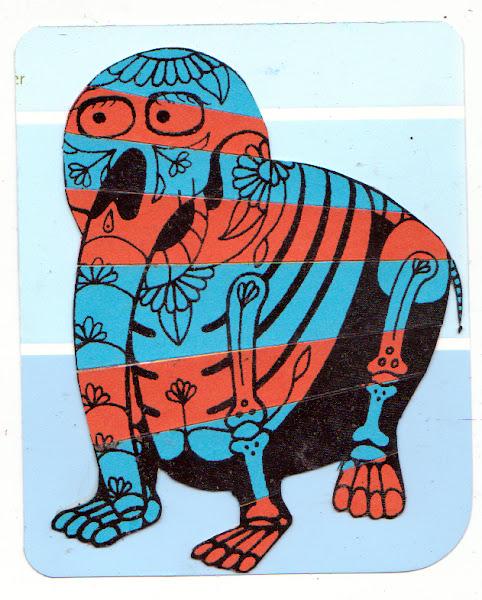 Photo: Mail Art 366 - Day 75, card 75a