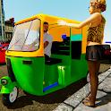 Auto Rickshaw Driver - Tuk Tuk icon