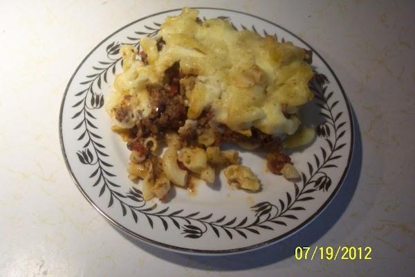 Greek Lasagna   ...(pastitsio) Recipe