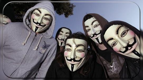 Anonymous Mask Photo Editor Free 9