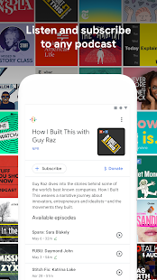 Google Podcasts: Discover free & trending podcasts Screenshot