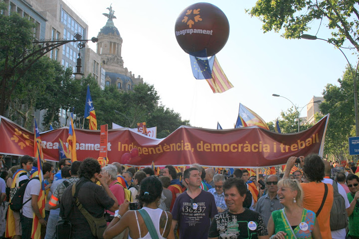 10 de juliol: Gran manifestació per la independència