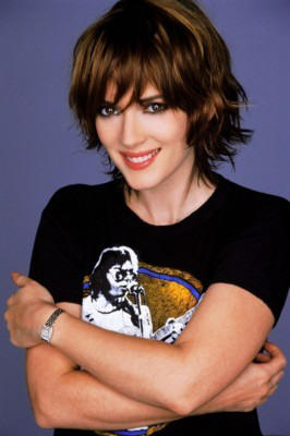 Diams Blogs Winona Ryder Short Hair Cut