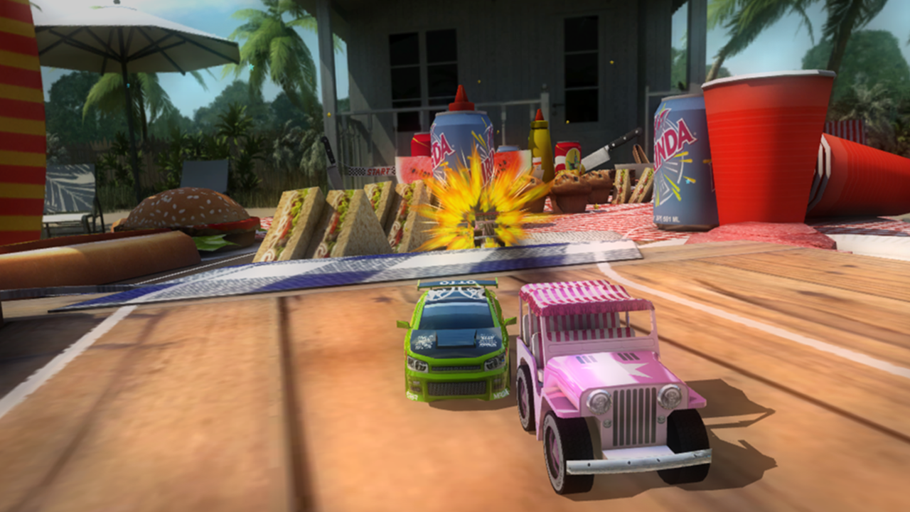 Table Top Racing Premium - screenshot