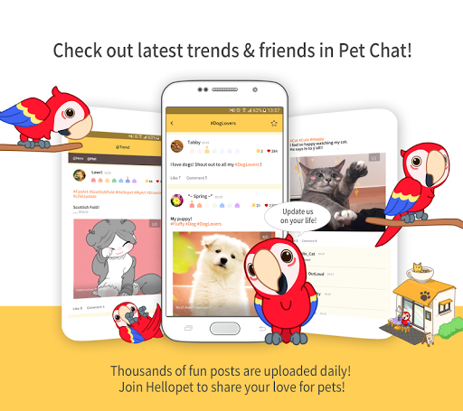 Hellopet - Cute cats, dogs and other unique pets 3.2.9 screenshots 14