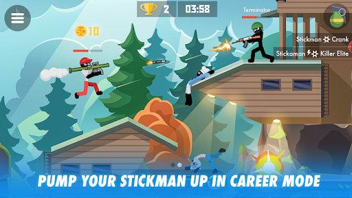 Stick Combats: Multiplayer Stickman Battle Shooter screenshots 2