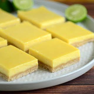 Key Lime Pie Bars.