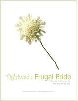 Tightwad's frugal bride