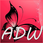 Pink Glow ADW Launcher