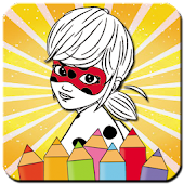 Ladybug Coloring Book New