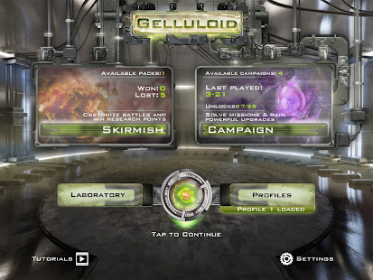 Gelluloid: Bio War Strategy Screenshot 11