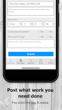 AtoZ Gigs: Nearby Service - Hire / Find Local Jobs screenshot thumbnail