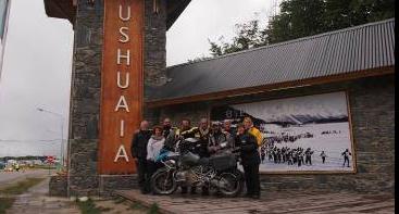 ushuaia à moto