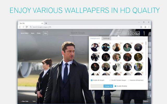 Fallen Series Wallpaper HD Custom New Tab