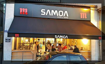 Cafés e tapas SAMOA