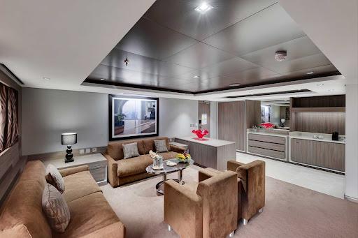 msc-seaview-MSC-Yacht-Club-Royal-Suite.jpg -  The 667-square-foot Royal Suite on MSC Seaview is available to MSC Yacht Club guests.