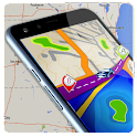 GPS Route Place Finder icon