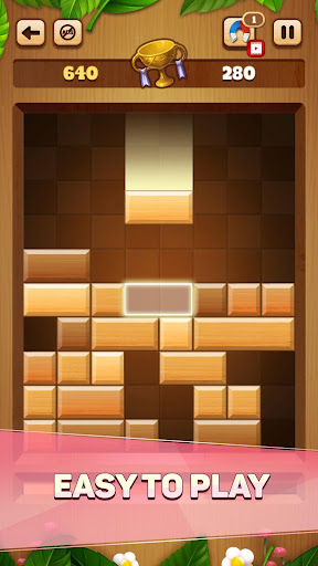 Woody Drop Puzzle - Free Block Mind Games 1.1.1 screenshots 1