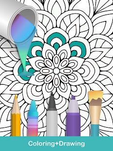 100 mandala coloring pages screenshot thumbnail - Google Coloring Pages