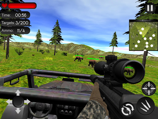 Bear Hunting on Wheels 4x4 - FPS Shooting Game 18 apkmr screenshots 8