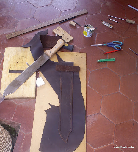 "Simple modificacion de machete panja africano 18"" S5037068"