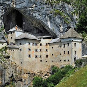 Predjama Castle by Tomasz Budziak - Buildings & Architecture Public & Historical ( slovenia, castle, architecture )