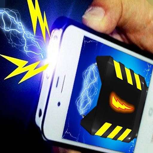 Electric shock gun stun prank