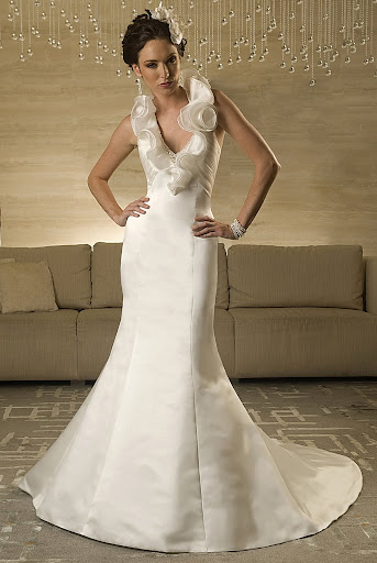 11031 Modern Wedding Dress, Bridal Gown