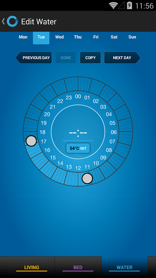 Climote Remote Heating Control- screenshot