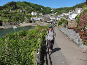 Photo: ... but we're walking to Looe!