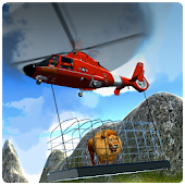 Helicopter Wild Animal Rescue Mod