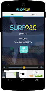 SURF 93.5 FM- screenshot thumbnail