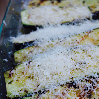 Best Grilled Zucchini with Herbs and Parmesan