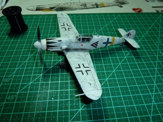 Olá! Gostaria de contribuir com o forum. Segue Bf 109G-6 ... P1010204