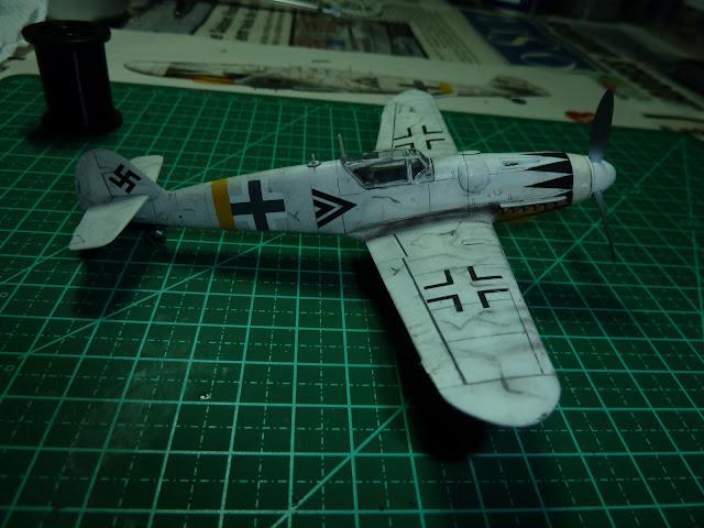 Olá! Gostaria de contribuir com o forum. Segue Bf 109G-6 ... P1010206