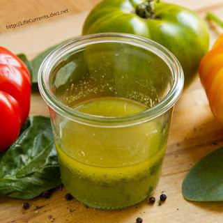 Super Quick and Easy Fresh Herb & Garlic Vinaigrette