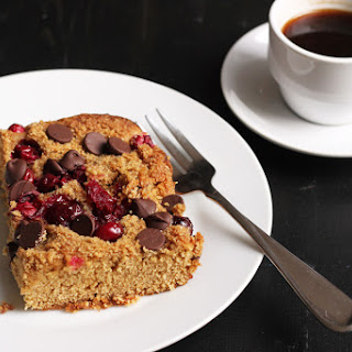 Cranberry Chocolate Snack Cake