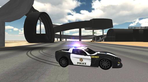 Police Car Driving Sim Screenshot