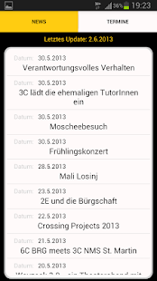 myBRG Traun – Miniaturansicht des Screenshots