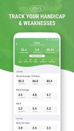 Golf GPS by SwingxSwing screenshot